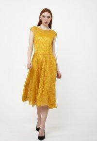 Madam-T - LOTTA - Cocktail dress / Party dress - gelb - 1
