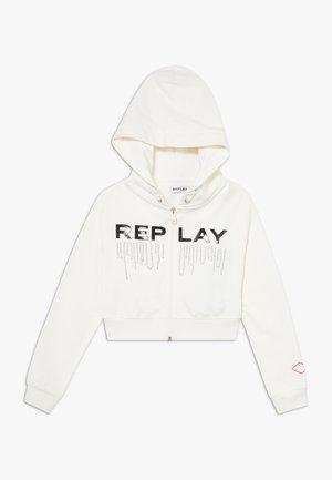 Zip-up hoodie - offwhite
