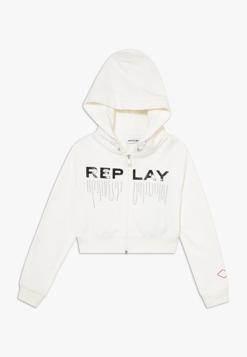 Replay - Zip-up hoodie - offwhite