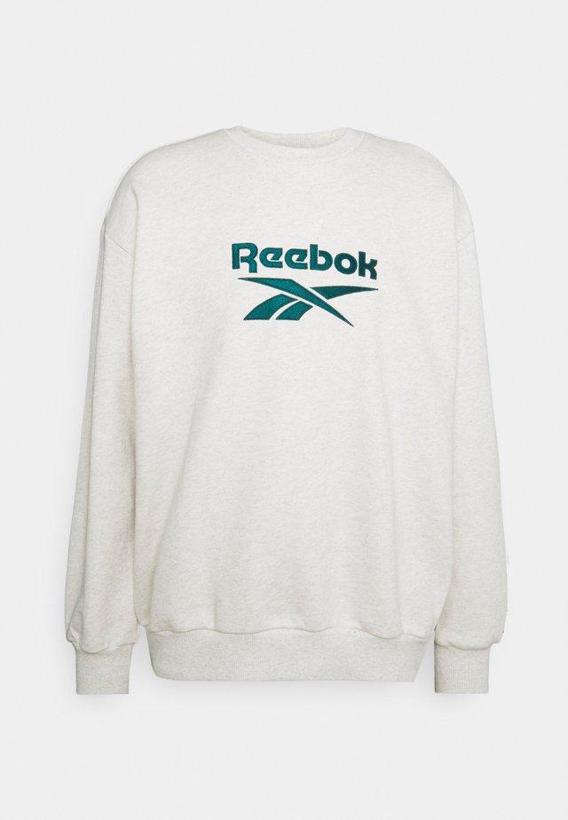 VECTOR CREW - Sweater - chalk mel