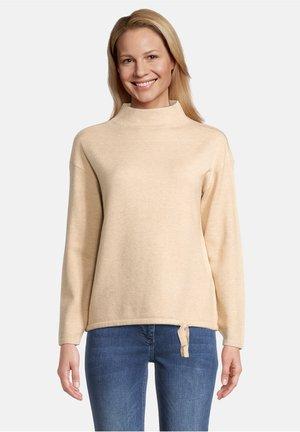 Pullover - light camel melange