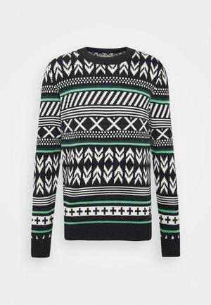 CREWNECK - Stickad tröja - multicolor