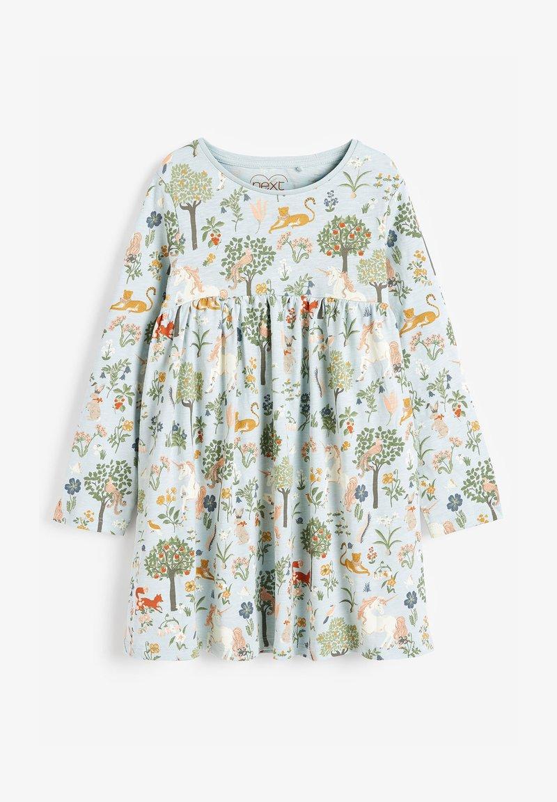 Next - Jersey dress - teal