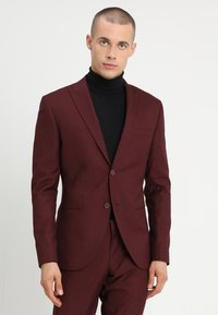 Isaac Dewhirst - FASHION SUIT - Suit - bordeaux - 2