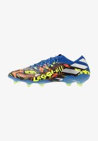 adidas Performance - NEMEZIZ MESSI 19.1 FG - Voetbalschoenen met kunststof noppen - team royal blue/silver metallic/solar yellow - 0