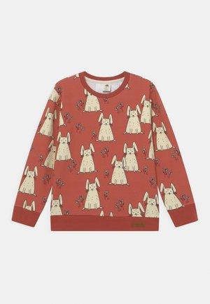 TINY RABBITS - Sweatshirt - coral