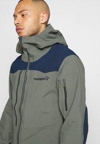 Norrøna - TAMOK GORE-TEX PRO JACKET - Hardshell jacket - grey - 3