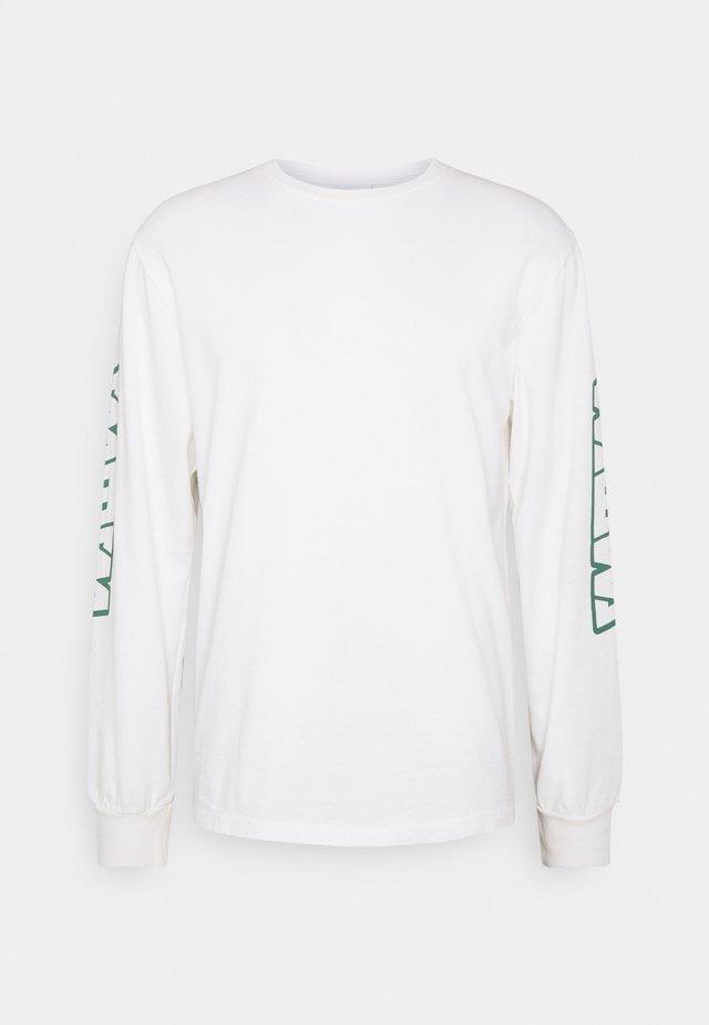 UNISEX - Maglietta a manica lunga - white