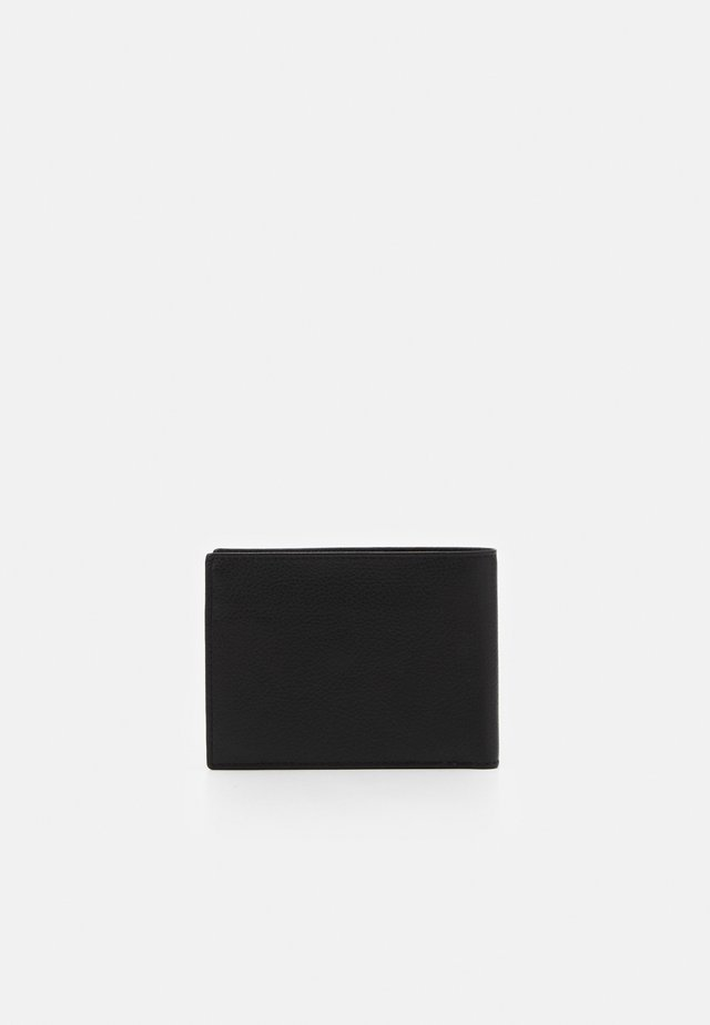 MAN WALLET AND COIN POUCH - Wallet - black