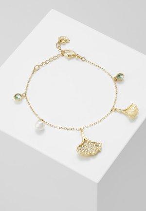 STUNNING BRACELET GINKO - Bracelet - gold-coloured