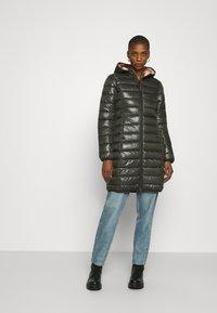 Q/S designed by - OUTDOOR - Zimní kabát - olive - 0