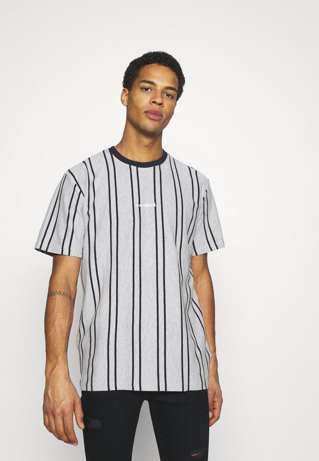 CRAZ SOCCER TEE - T-shirt con stampa - light grey