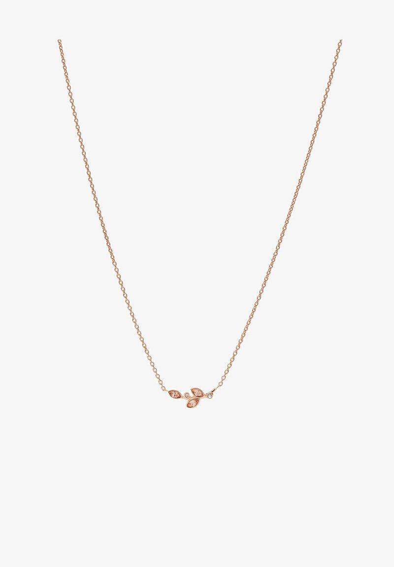 Fossil - BLOOMS VINTAGE ROSE  - Necklace - roségold