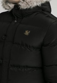 SIKSILK - STOP PUFF - Winter coat - black - 4