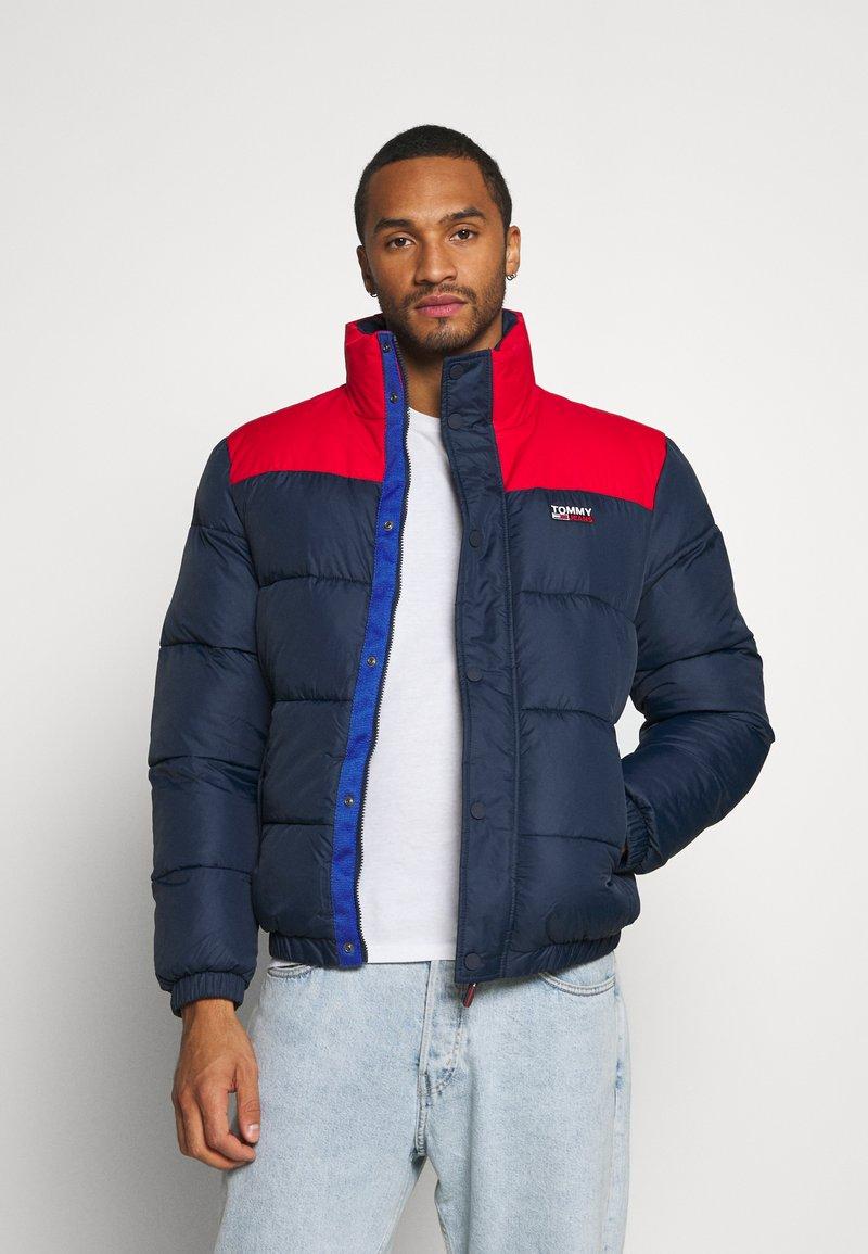 Tommy Jeans - CORP JACKET - Winter jacket - twilight navy