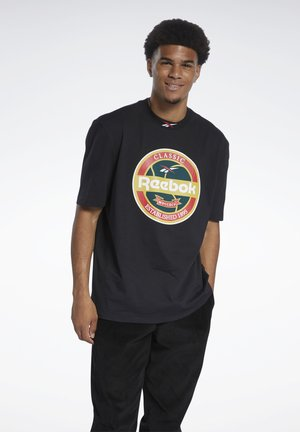 VINTAGE PACK CASUAL - T-shirt con stampa - black