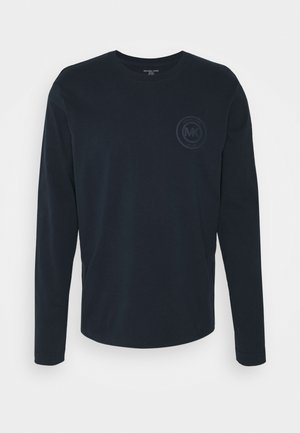 PEACHED LONGSLEEVE - Pyjamasöverdel - midnight
