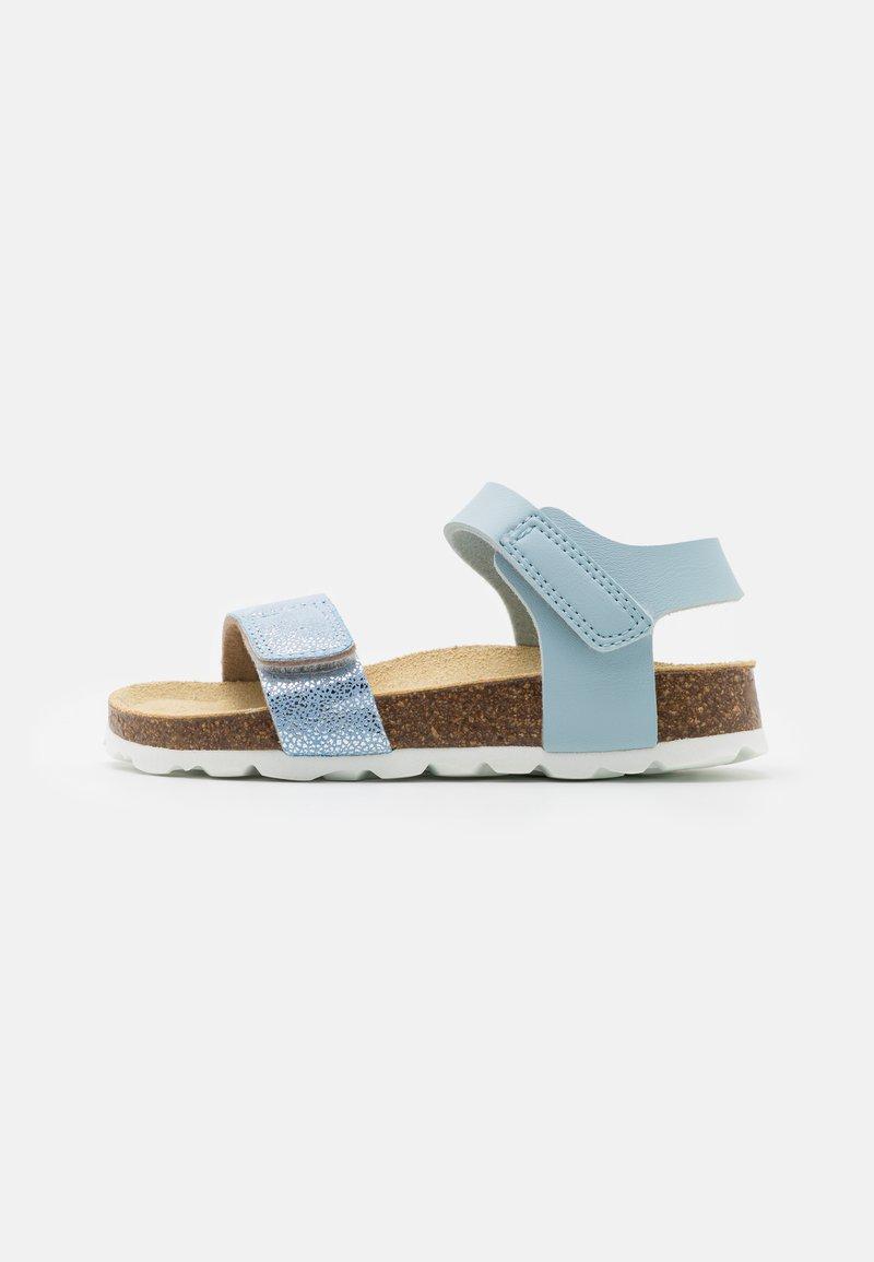 Superfit - FUSSBETTPANTOFFEL - Sandály - blau