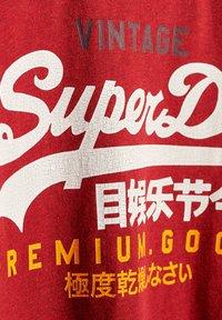 Superdry - Print T-shirt - chilli pepper marl - 2