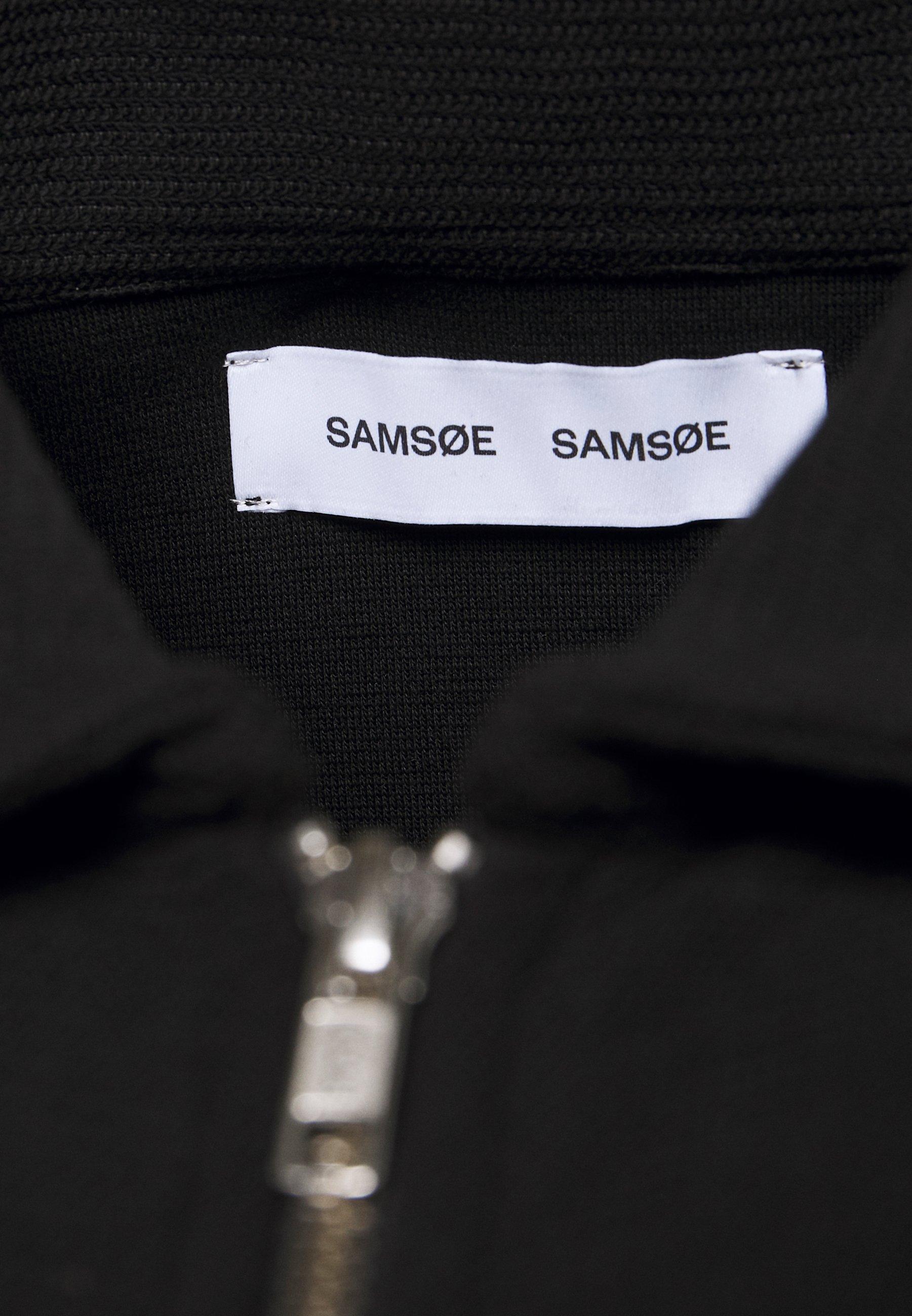 Samsøe Herrskov Zip - Hettejakke Black/svart