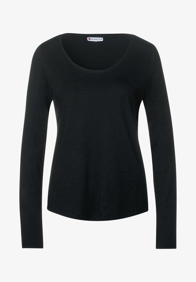 IM BASIC STYLE - Long sleeved top - schwarz