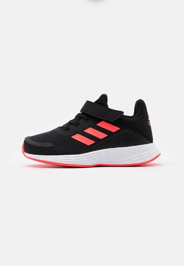 DURAMO UNISEX - Sportovní boty - core black/signal pink/team royal blue
