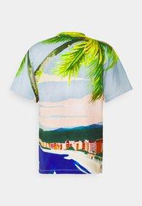 Sergio Tacchini - CIUDAD  - Print T-shirt - cherry tomato multi - 1