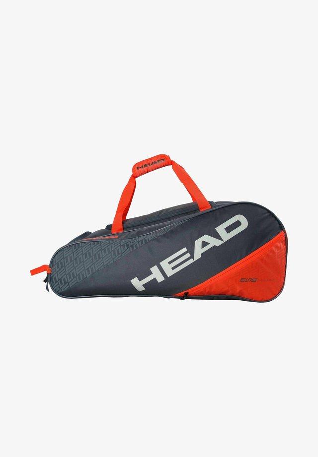 Racket bag - schwarz/rot
