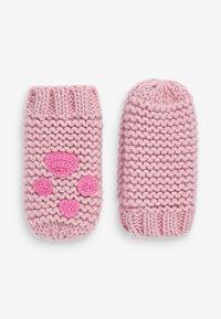 Next - Rukavice - pink - 2