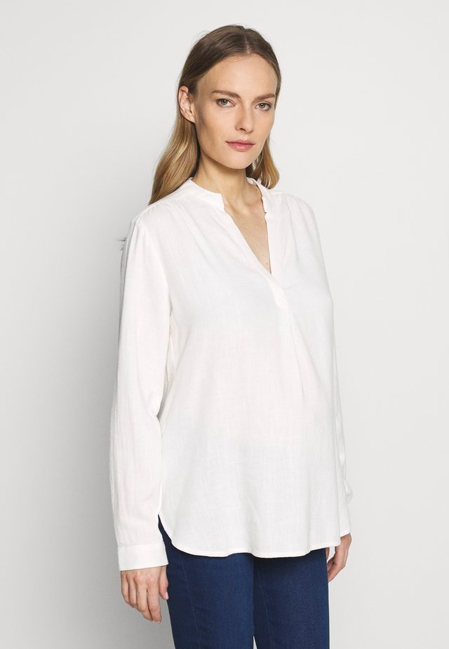 DRAPEY POPOVER - Blouse - milk global