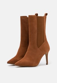 Zign - High heeled boots - cognac - 2