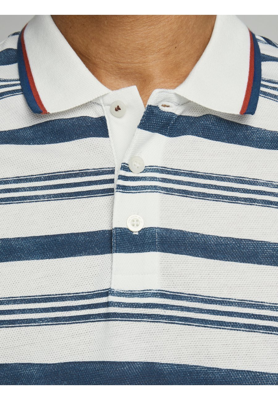 Jack & Jones PREMIUM JPRWIN - Polo shirt - off-white FVdH7
