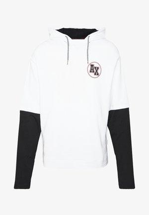 Hættetrøjer - white/black