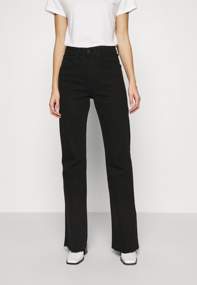 RILEY - Jeans bootcut - black