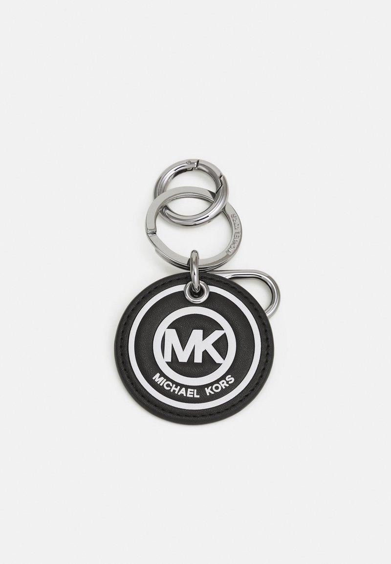 Michael Kors - MEDAL LOGO KEYFOB - Sleutelhanger - black