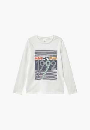 NKMKUNO - Long sleeved top - bright white