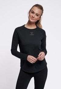 Hummel - VANJA  - Long sleeved top - black - 0