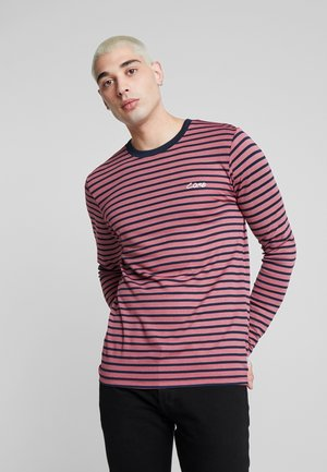 JCOTAYLER TEE CREW NECK - Long sleeved top - rio red