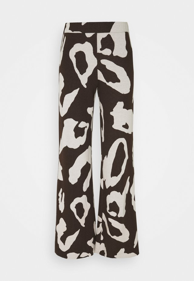 KOGARA PANTS - Pantalon classique - brown