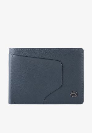 PIQUADRO AKRON GELDBÖRSE RFID LEDER 13 CM - Portefeuille - blue