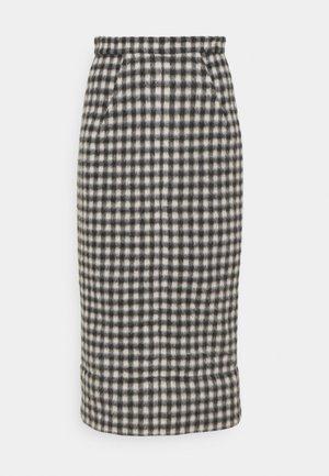 GONNA TESSUTO - Pencil skirt - beige