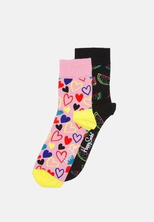 I HEART U WATERMELON 2 PACK UNISEX - Ponožky - multi