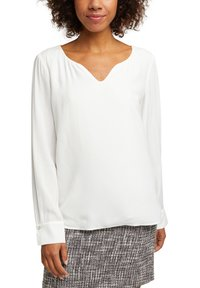 Esprit Collection - MIT KELCH-AUSSCHNITT - Blouse - off white - 3