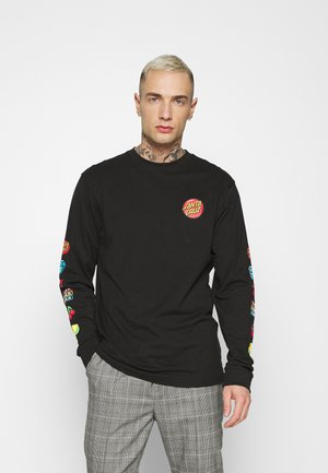 JACKPOT DOT LONGSLEEVE UNISEX - Long sleeved top - black