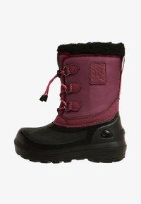 Viking - ISTIND - Zimní obuv - dark pink/black - 1