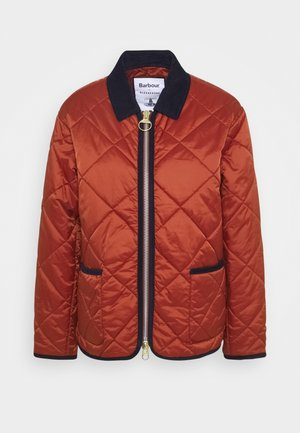 ALEXA CHUNG QUILTY QUILT - Light jacket - russet
