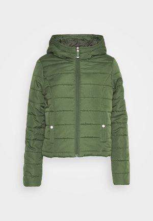 VMSIMONE HOODY SHORT JACKET - Light jacket - black forest