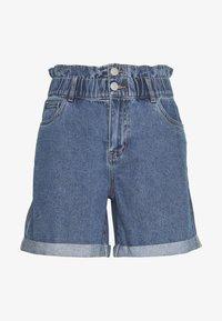 Noisy May - Shorts di jeans - medium blue denim - 0