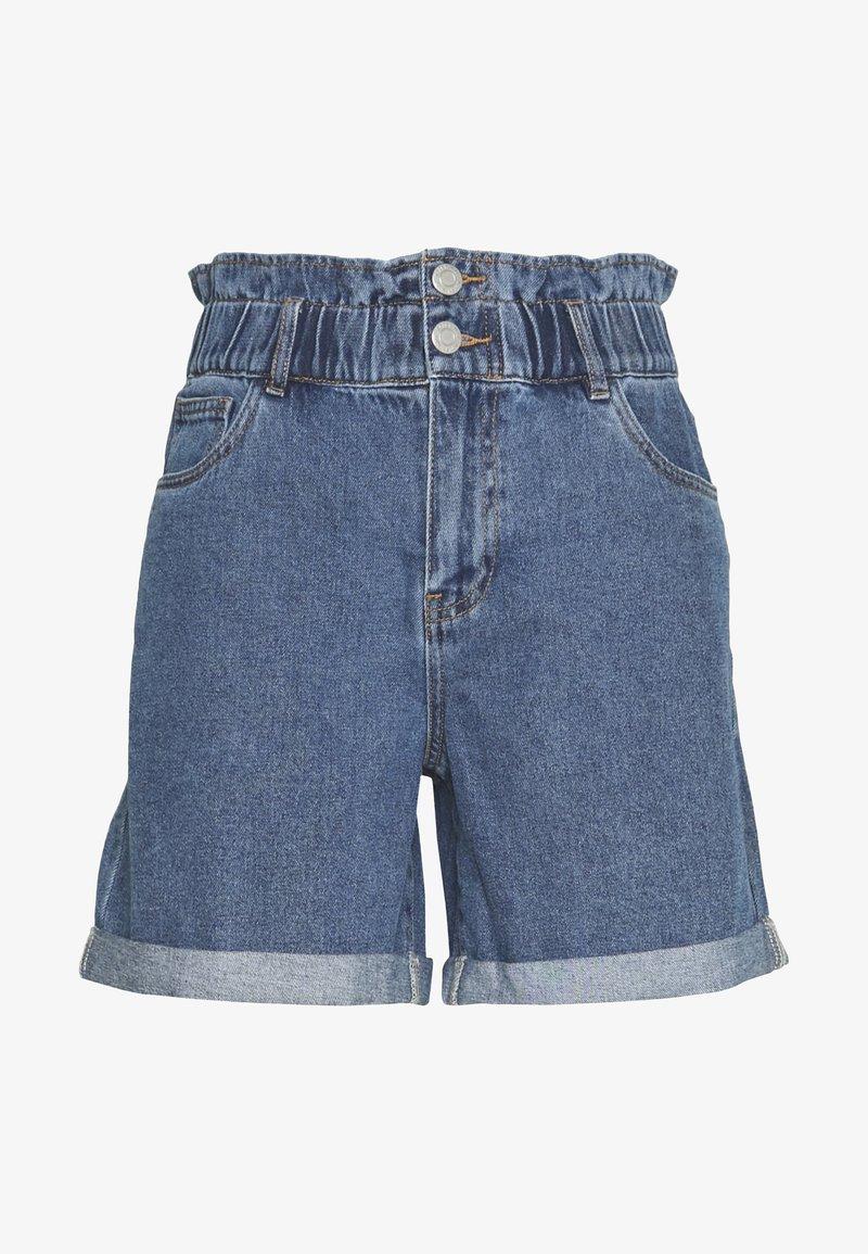 Noisy May - Shorts di jeans - medium blue denim