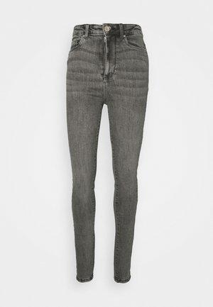 VMLOA - Jeans Skinny Fit - medium grey denim